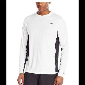 NWT Speedo long sleeve swim shirt UV guard